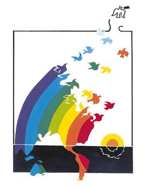 平和 の 道のり ポスター