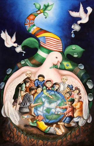 Peace Poster Contest Grand Prize Winners | Lions Clubs
