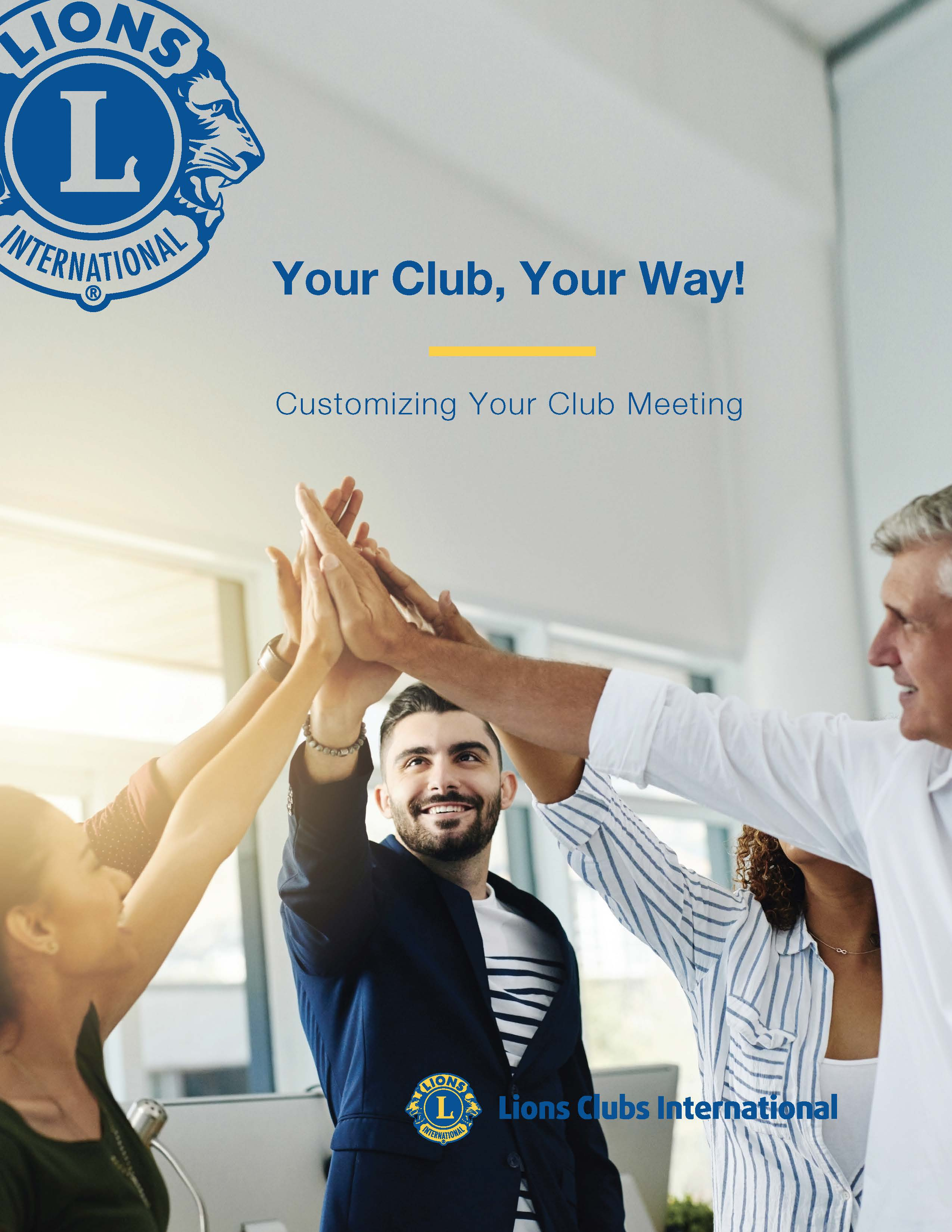 Link to Your Club, Your Way!
