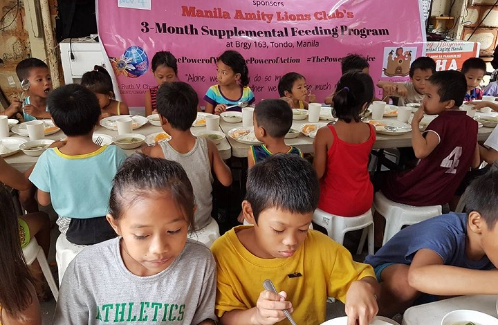 Manila Amity Lions Club feeding project