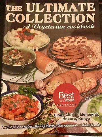 The Ultimate Collection--A Vegetarian Cookbook by the Lions of Menegai club