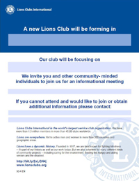 Link to Specialty Clubs Information Session Flyer